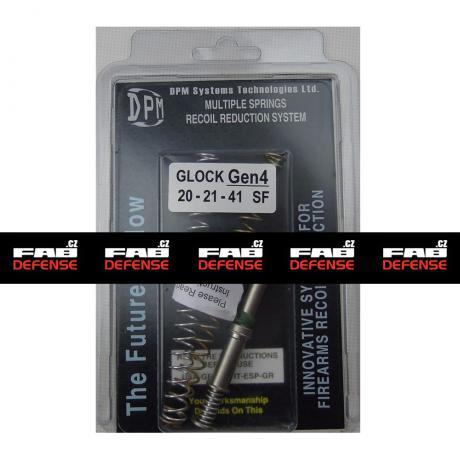 MS-GLG4/3 - Vratná pružina s redukcí zpětného rázu DPM pro Glock 20/21/41 SF (4 GEN)
