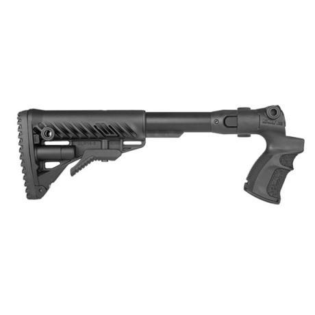 AGM-F500 FK - Teleskopická sklopná pažba a pistolovou rukojetí pro Mossberg 500 černá