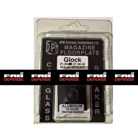 DPM-76 - Hliníková patka na zásobník pro Glock 21/30/37/38/39 (45Auto / .45 GAP)