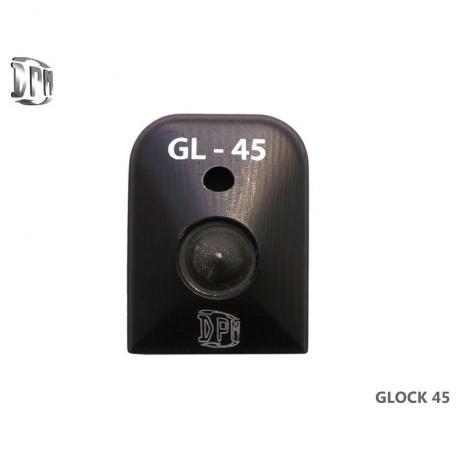 MFA-GL/2 - Hliníková patka na zásobník s rozbíječem oken pro Glock 21/30/37/38/39 (45Auto / .45 GAP)
