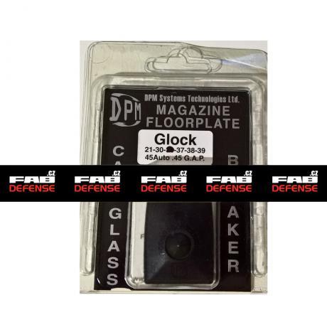 MFPB-GL/2 - Polymerová patka na zásobník s rozbíječem oken pro Glock 21, 30, 37, 38, 39 (45Auto / .45 GAP) černá