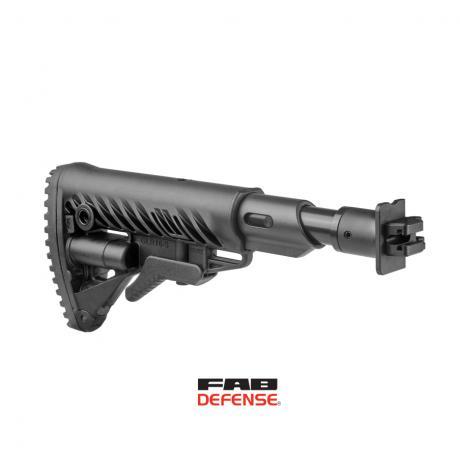 M4-VEPR FK SB - Sklopná pažba s absorberem pro Molot VEPR - černá