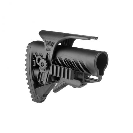 GLR-16 PCP - Pažba typ M16 s lícnicí s railem černá
