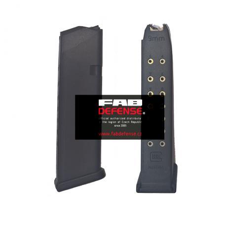 GL-9MM17R - Originální Glock zásobník 9mm 17 ran (GEN 4)