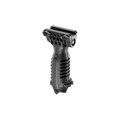 T-POD QR - Přední taktická rukojeť s integrovanou dvojnožkou s rychloupínákem - černá