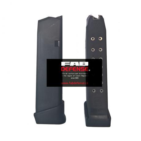 GL-9MM17R+2 - Originální Glock zásobník 9mm s botkou 17+2 ran (GEN 4)