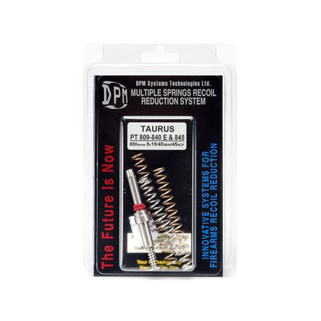 MS-TAU/1 - Vratná pružina s redukcí zpětného rázu DPM pro TAURUS PT 809-840 E & 845 800 Series 9X19-40s&w-45ACP