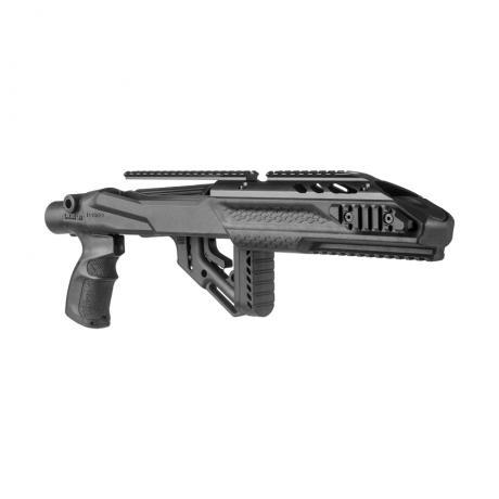 UAS PRO R10/22 - Kompletní pažbení pro Ruger 10/22 s horním railem (Galil pažba) černé