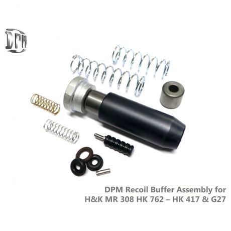 RBA-MR-308 - Teleskopická vratná pružina s redukcí zpětného rázu DPM pro Heckler & Koch MR 308 & HK 417