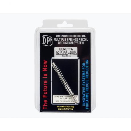 MS-BE/1 - Vratná pružina DPM Systems s redukcí zpětného rázu pro BERETTA A1 F-FS-G 92 / 96 / 98 (9mm/40s&w)