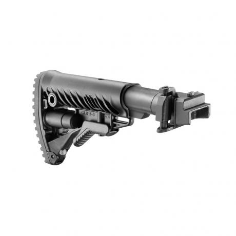 M4-AK - Sklopná kovová pažba pro AK-47 typ M16