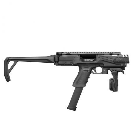 KPOS Scout Standard - Konverze pro pistole Glock 17, 19 (Gen 3, 4, 5), 19X - černá