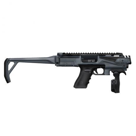 KPOS Scout Standart - Konverze KPOS Scout Standart pro pistole Glock 17, 18, 19, 22, 23, 25, 31, 32, 37, 38 (Gen 3, 4, 5) šedo-černá