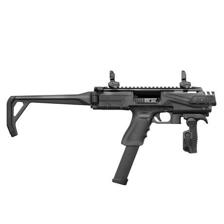 KPOS Scout Advanced - Konverze pro pistole Glock 17, 19 (Gen 3, 4, 5), 19X - černá