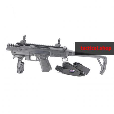 KPOS Scout Advanced - Konverze pro pistole Glock 17, 19 (Gen 3, 4, 5), 19X, 45 - černá