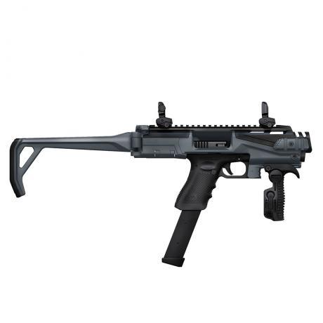 KPOS Scout Advanced - Konverze KPOS Scout Advanced pro pistole Glock 17, 18, 19, 22, 23, 25, 31, 32, 37, 38 (Gen 3, 4, 5) šedo-černá