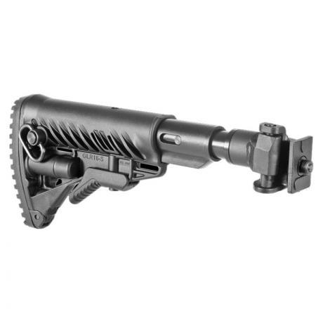 M4-VZ SB - Sklopná pažba pro SA-58 typ M16 s absorberem a kovovým kloubem - černá