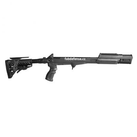 M4-SKS CP - Modernizační set pro SKS - M4 pažba s absorberem s lícnicí - černý