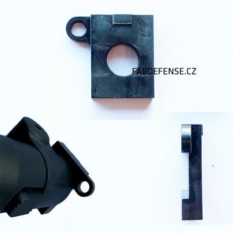 ON-R - Ocelová podložka s okem na popruh pro pažby FAB Defense SA-58 vpravo