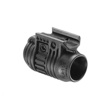 PLA 3/4 - Držák na svítilnu 3/4 palce černý