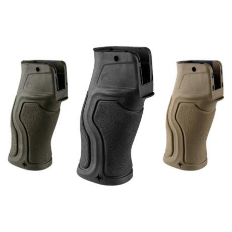GRADUS FBV - Ergonomická pistolová pogumovaná rukojeť pro M4 / AR-15 (bez bobřího ocasu) černá