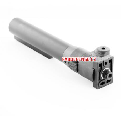 TUBE-58-VZP-LH - Sklopná kovová trubka s polymerovým kloubem - sklápění vlevo bez očka na popruh
