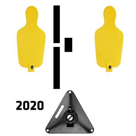 RTS 2 2020 - RTS Targets - Pevný padací terčový set verze 2020 - žlutá