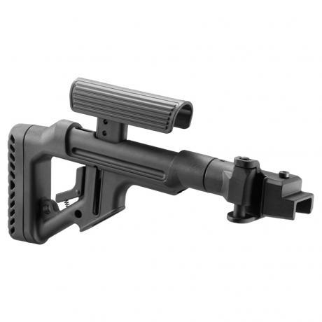 UAS-AK - Sklopná pažba pro AK typ Galil 2 s kovovým kloubem černá