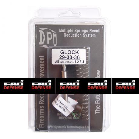 MS-GL/6 - Vratná pružina s redukcí zpětného rázu DPM pro Glock 29/30/36 Subcompact