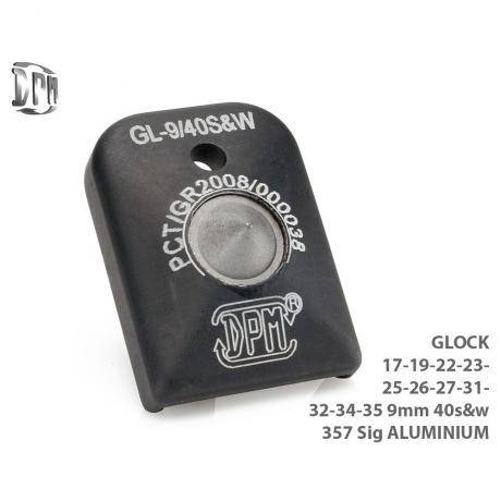 MFA-GL/1 - Hliníková patka na zásobník s rozbíječem oken pro Glock 17, 19, 22, 23, 25, 34, 35