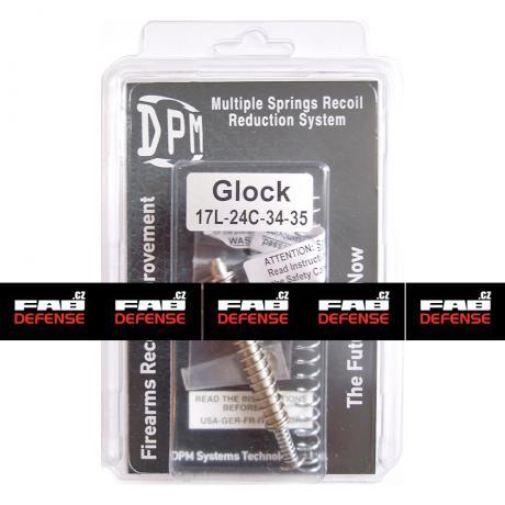 MS-GL/4 - Vratná pružina s redukcí zpětného rázu DPM pro Glock 17L/24C/34/35