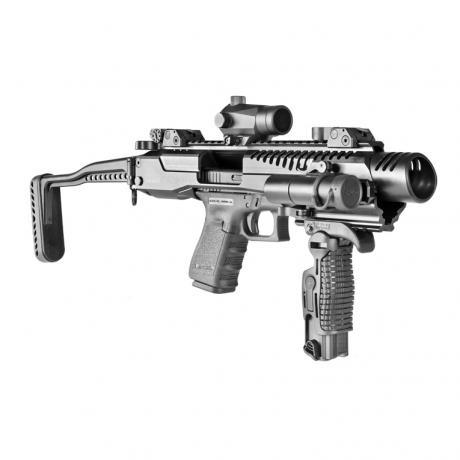 KPOS G2 GLOCK 17/19 - Karabinová konverze KPOS G2 pro Glock (17, 18, 19, 22, 23, 34, 35) standardní pažba