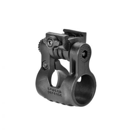 PLR - Otočný držák na svítilnu 1 palec černý