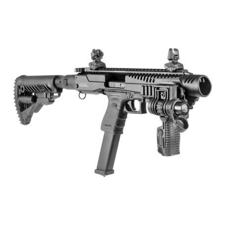 KPOS G2 GLOCK 17/19 M4 - Karabinová konverze KPOS G2 pro Glock (17, 18, 19, 22, 23, 34, 35) M4 pažba