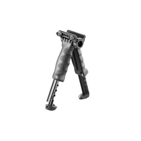 T-POD G2 QR - Přední taktická rukojeť s integrovanou dvojnožkou (aktivace palcem) - černá
